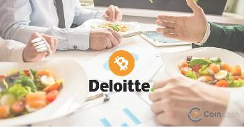 Deloitte: Lunch for Bitcoin? No problem!