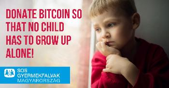 SOS Children's Villages Foundation is the first in Hungary to accept bitcoin donations with the help of CoinCash