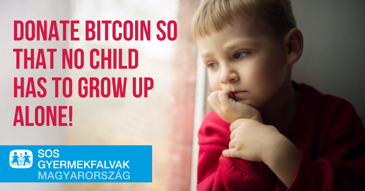 CoinCash provides technical assistance and a free exchange so that for the first time in Hungary, the SOS Children's Villages Foundation can accept bitcoin and ether donations.